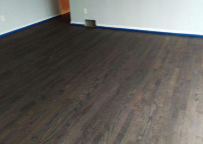 Floor Re-Stain